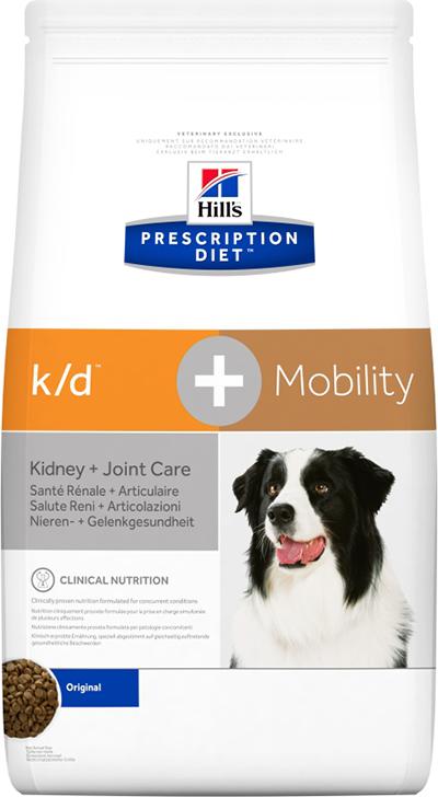 Сухой корм Ветеринарный корм для собак Hill`s Prescription Diet k/d + Mobility, поддержание подвижности/болезни почек кд_.png