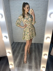 легкое летнее платье из шифона купить