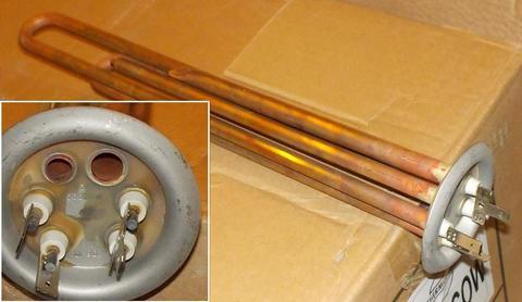 Нагревательный элемент (ТЭН) для водонагревателя Thermex (Термекс) 2000W - 066052 медь, анод М4 ОРИГИНАЛ