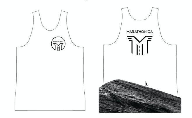 Майка клубная GRi marathonica, белая, мужская