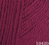Пряжа Himalaya DOLCE MERINO 59420 (вишнёвый)