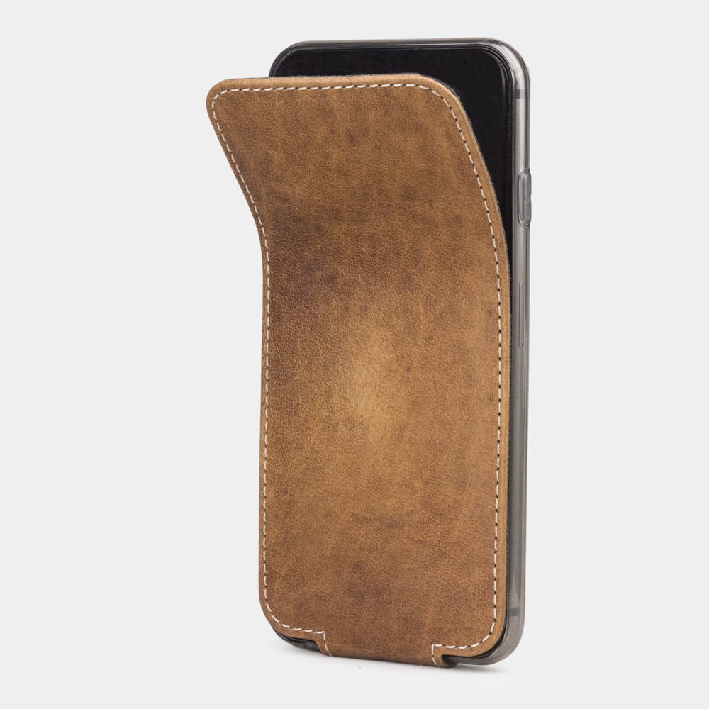 Чехол для iPhone 6/6S из натуральной кожи теленка, цвета винтаж