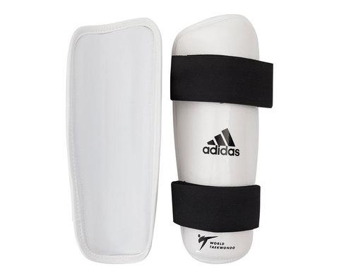 Защита голени для тхэквондо WT Shin Pad Protector белая