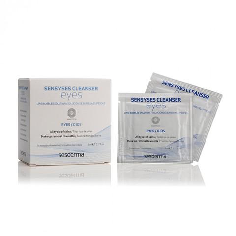 SESDERMA | Салфетки для снятия макияжа с глаз / SENSYSES CLEANSER Eyes, (14 шт)
