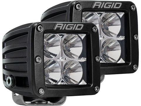RIGID D-серии PRO (ближний свет, 4 светодиода, 2 шт)