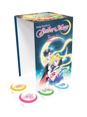 Коллекционный бокс Sailor Moon. Часть 1. Тома 1-6.