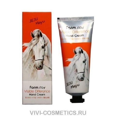 Крем для рук - Лошадинный Жир | Farm Stay visible differerce hand cream horse oil (100мл)