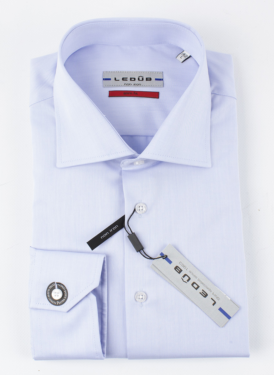 Рубашка Ledub slim fit 0690167-120-000-000-SF-BlueB