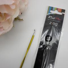 Крючок KnitPro Zing № 3,5