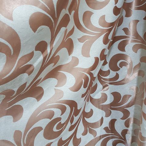 Портьерная ткань блэкаут растительный рисунок. Арт. DJ-P024-BL