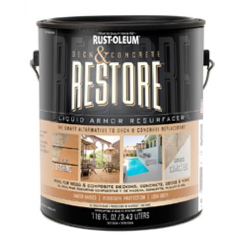 Deck & Concrete Restore покрытие для восстановления деревянных и бетонных полов