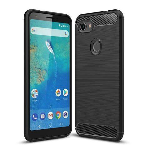 Силиконовый чехол для Google Pixel 3 XL (Черный)