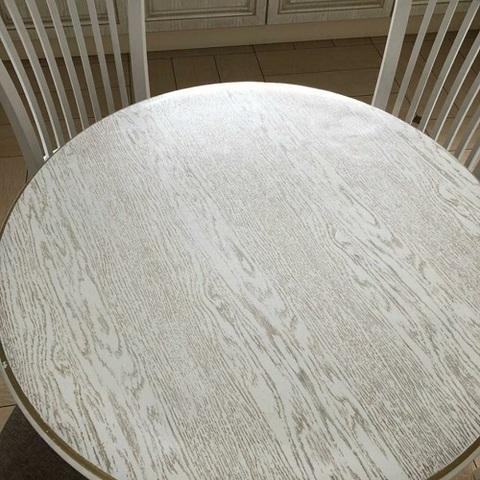 Скатерть круглая матовая 105 см