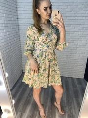 легкое летнее платье из шифона недорого