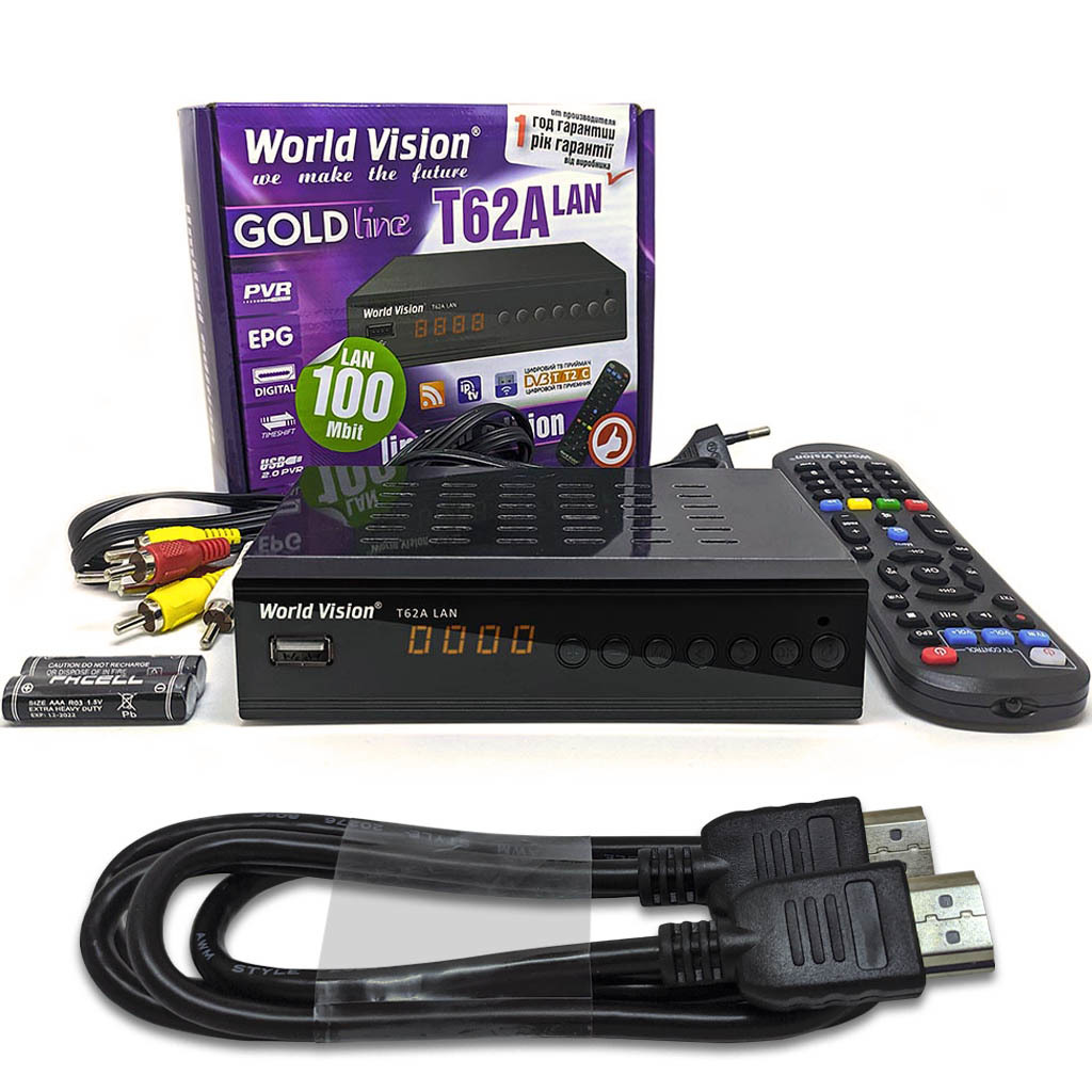 Комплект World Vision T62A LAN HDMI