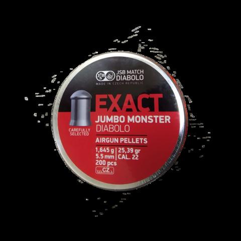 Пульки JSB Jumbo MONSTER 5.5 мм (1.645 г, 200 шт.)
