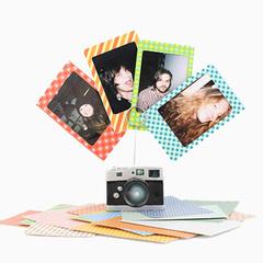 Наклейки для фотографий Instax Mini