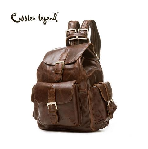 Рюкзак кожаный Cobbler Legend 061