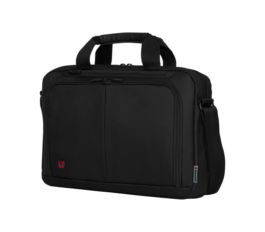 Портфель WENGER Source для ноутбука 14 дюймов, цвет чёрный, 39x25x8 см., 5 л. (601064) - Wenger-Victorinox.Ru