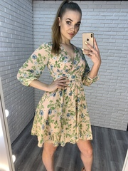легкое летнее платье из шифона nadya