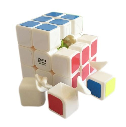 Кубик Рубика QiYi 3x3x3 (скоростной кубик) белый