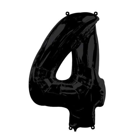 Цифры Черные 102 см