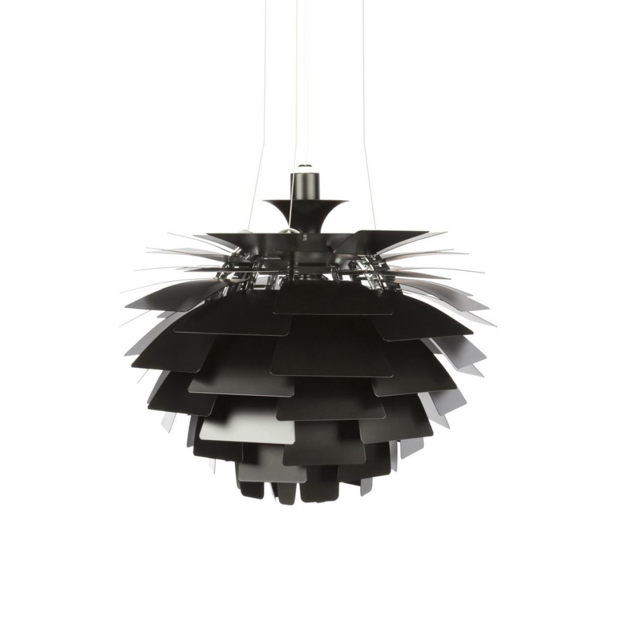Подвесной светильник PH Artichok by Louis Poulse D50 (черный)