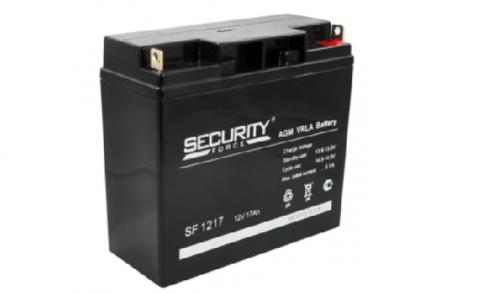 Аккумулятор Security Force (18 Ач)