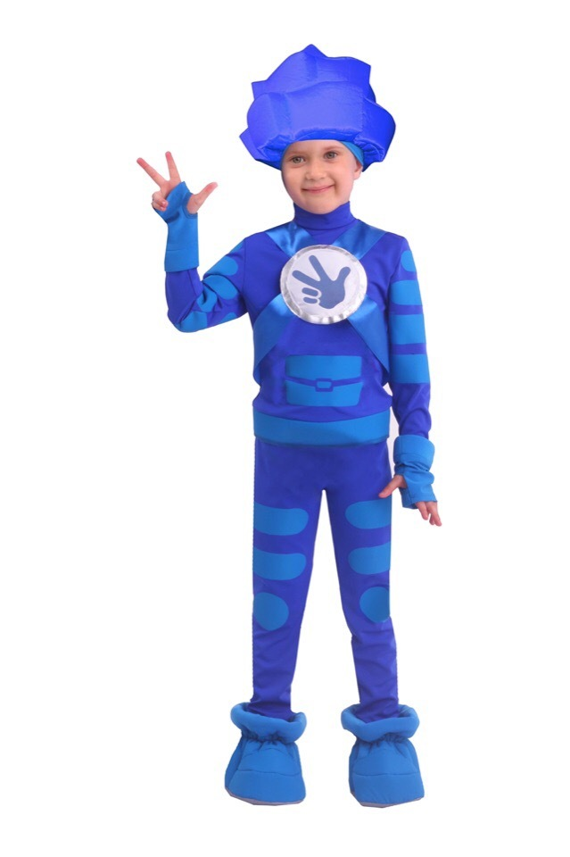 Карнавальный костюм Фиксик Нолик детский