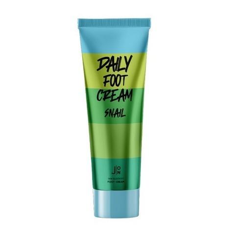 J:ON крем д/ног Snail Daily Foot cream с муцином, 100мл