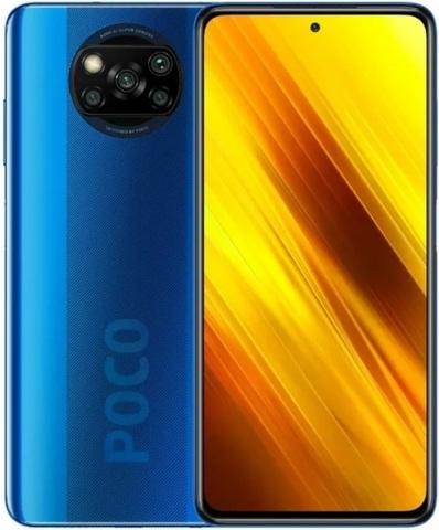 Смартфон Xiaomi Poco X3 NFC 6/128GB Blue (Синий)
