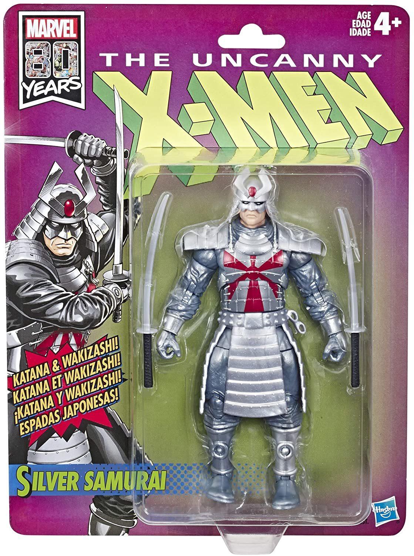 Фигурка Серебряный Самурай (Люди Икс «X-Men») Marvel Retro 15 см