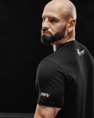 Мужская футболка Olimp T-shirt Gold Series Black