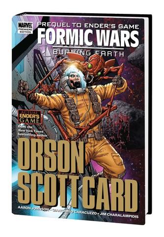 Ender's Game: Formic Wars: Burning Earth Hardcover