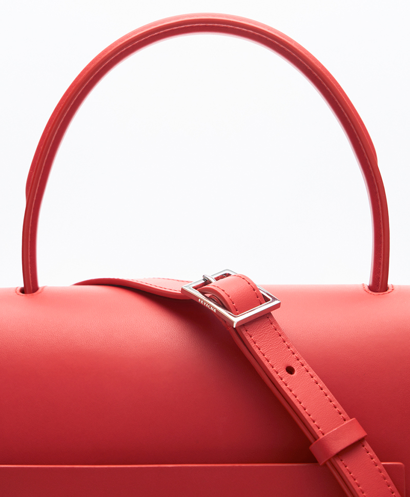 Сумка-трапеция средняя RUBY RED