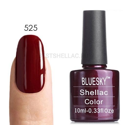 Bluesky Shellac 40501/80501 Гель-лак Bluesky № 40525/80525 Decadence, 10 мл 525.jpg