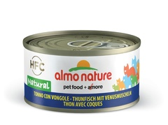 Консервы (банка) Almo Nature Legend Adult Cat Tuna&Clams