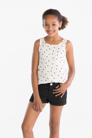 Блузка для девочки (светло жёлтая) C&A