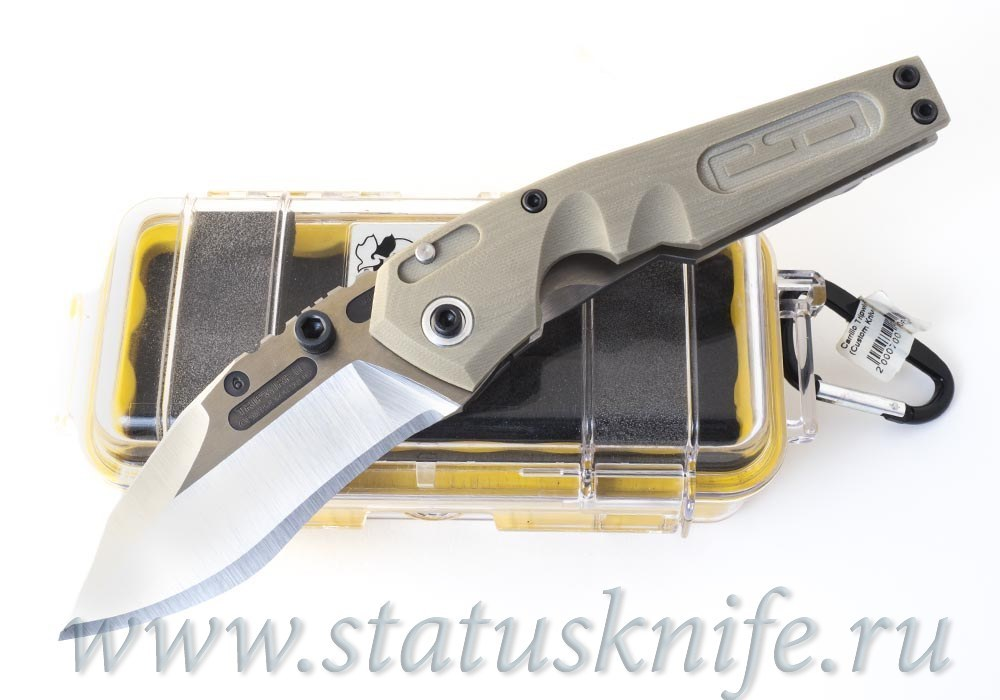 Нож Dwaine Carrillo Tripwire II Magnum Model 6 Кастом
