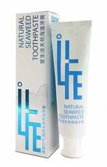 Натуральная зубная паста на основе морских водорослей I Life 120г