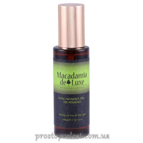 De Luxe Macadamia Oil Treatment - Олія Макадамії для волосся і тіла