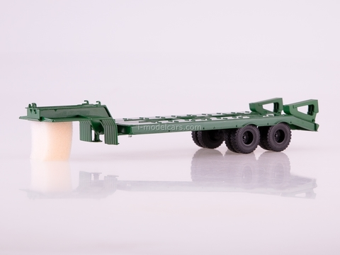 Semitrailer heavy carrier ChMZAP-5523 ​​green 1:43 AutoHistory