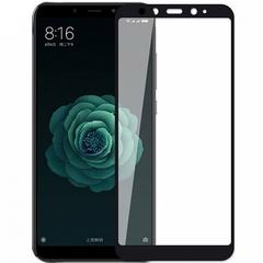 Защитное стекло 2.5D Xiaomi Mi A2 (Mi 6X) (Черное)