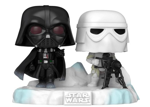 Funko POP! Deluxe: Star Wars: Darth Vader & Snowtrooper (Exc) || Битва за Эхо Базу: Дарт Вейдер и Снежный Штурмовик