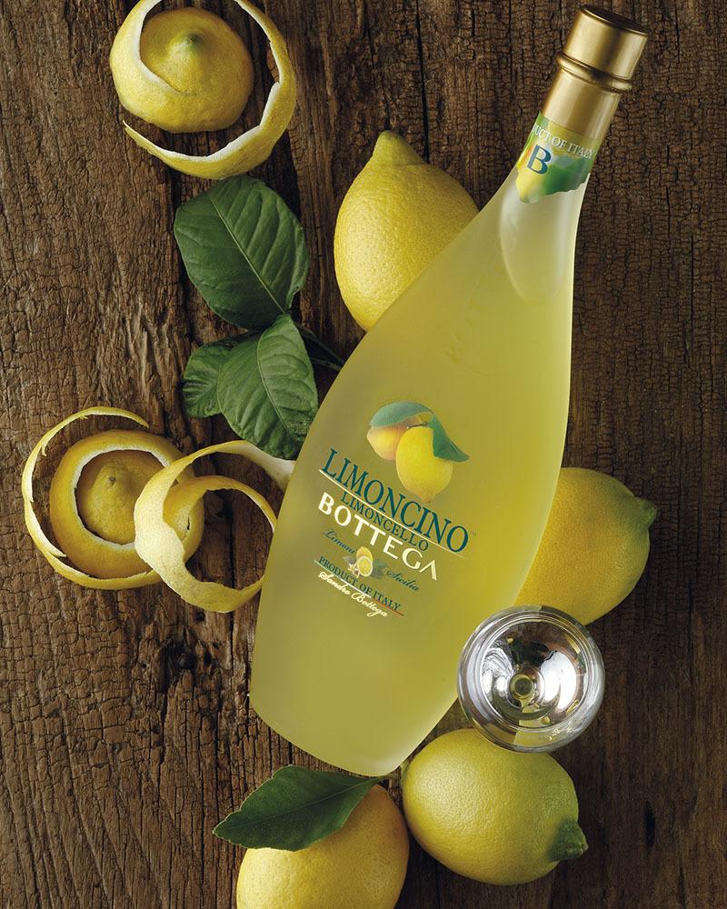 Ликер Десертный Bottega Лимончино 30%, 0,5 л.