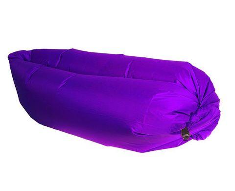 Надувной гамак (ламзак, биван) фиолетовый