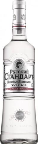 Водка Русский Стандарт Платинум, 0.5 л