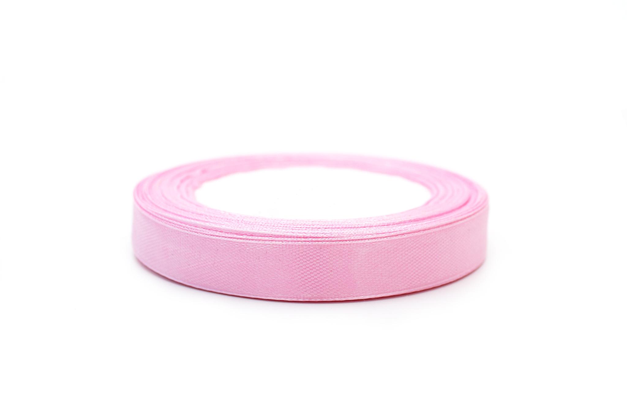 Лента атласная,1,2 см, нежно-розовый