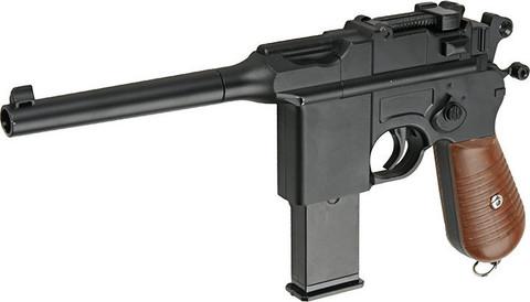 Cтрайкбольный пистолет Galaxy G.12 Mauser mini металлический, пружинный