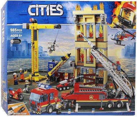 Конструктор Cities 11216 Пожарная станция